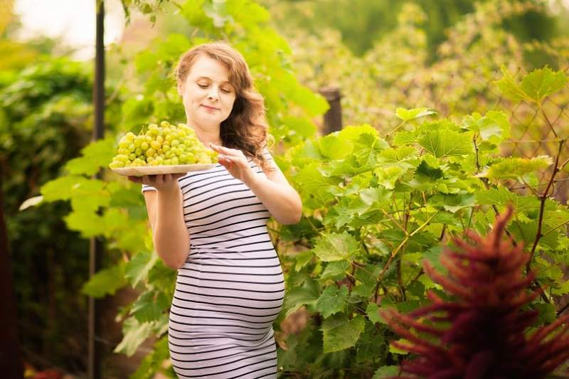 grapes during pregnancy