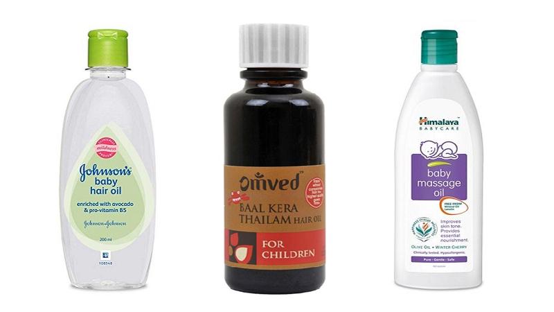 best baby hair oil in india