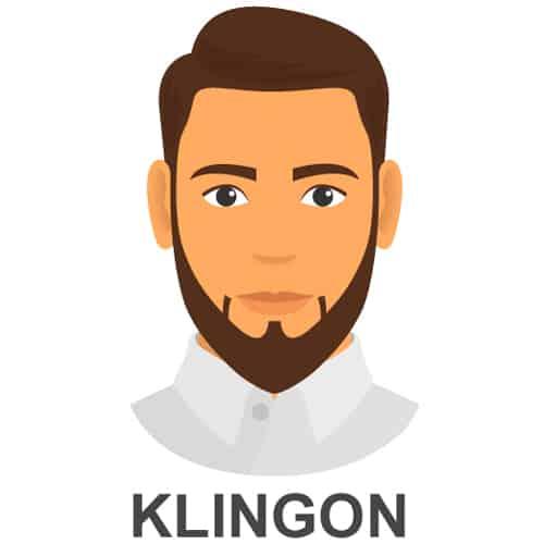Klingon Facial Hair Style