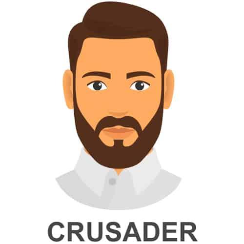 Crusader Facial Hair Style