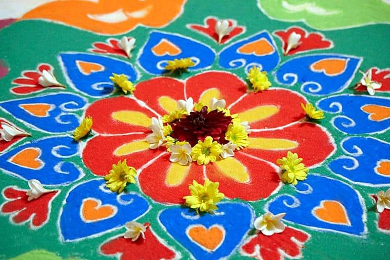 Rangoli Design for Festivals