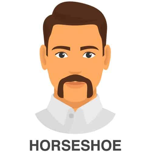 Horseshoe Mustache Style