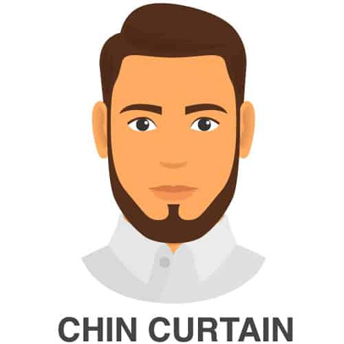 Chin Strap Facial Hair