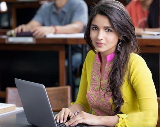 Actress alia bhatt College