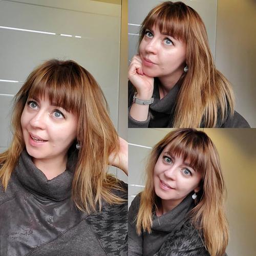 Bang Haircut Style for Thin Hair