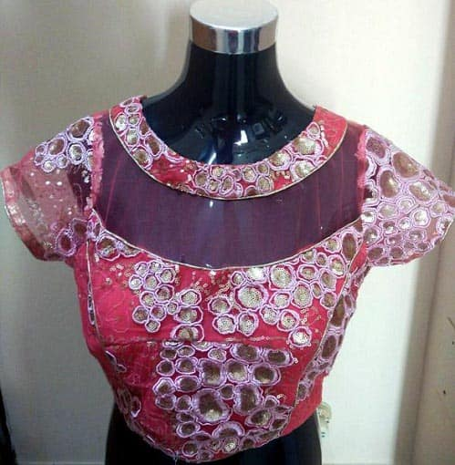 Colourful Designer Blouse For Parties