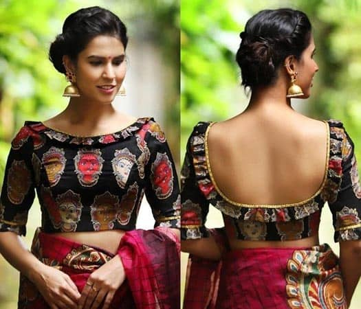 Boat Neck Blouse Designs 25 Stunning Models For Stylish Look