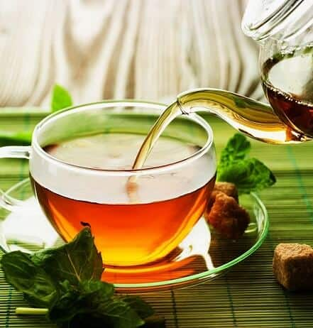 Home remedies for runny nose : herbal tea