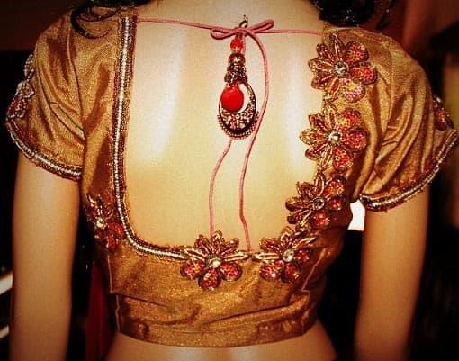 Latest Bridal Designer Blouse