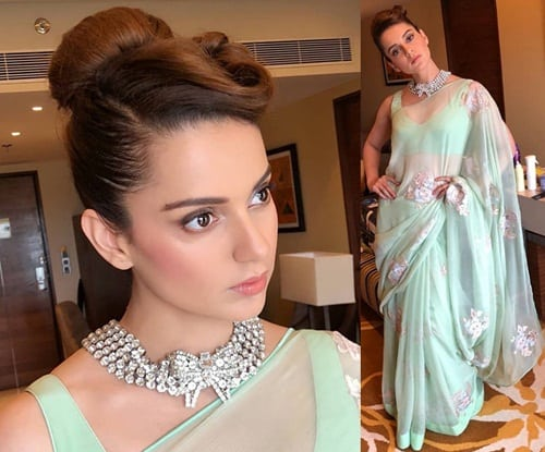 50 Beautiful Hairstyles For Saree To Look Perfect Styles