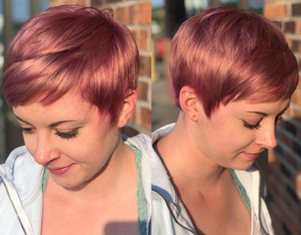 Modern Short Cut for Stylish Look