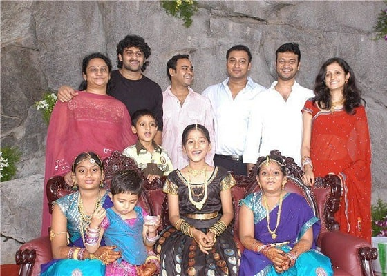 Prabhas brothers and Sisters