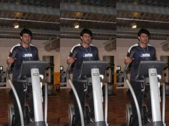 Prabhas Gym Body