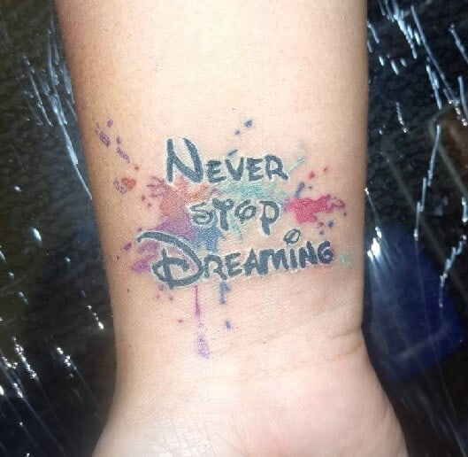 Quotation Tattoo Design