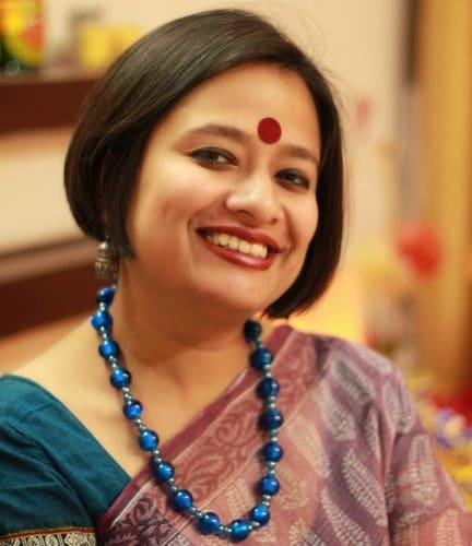 Indian Bob Style for Saree