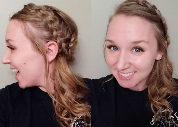 Side Braided Style Leave Out