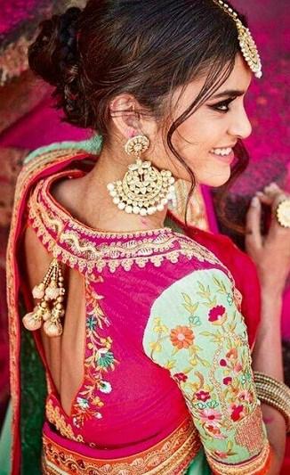 Wedding Designer Blouse Design