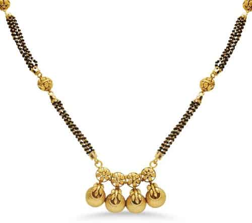 22k Gold North Indian Mangalsutra