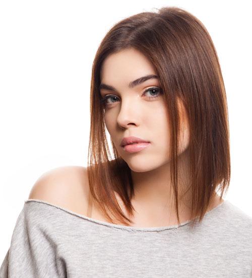Sassy A-Line Bob for Thin Hair
