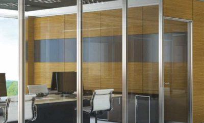 Aluminium Office Door