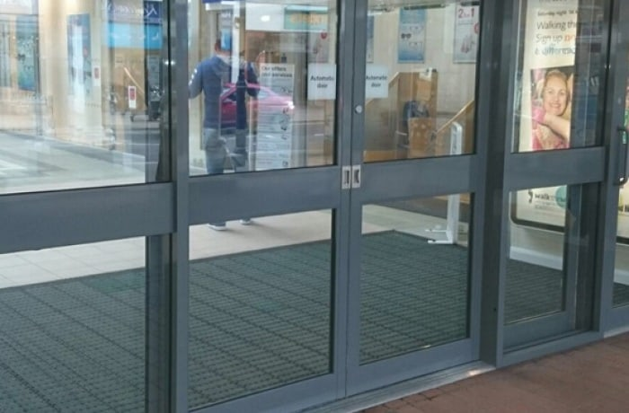 Aluminium Office Door Design