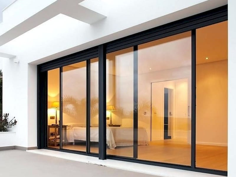 10 Latest Sliding Glass Door Designs With Pictures In 2020