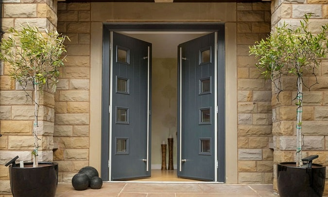 Contemporary Back Door Designs