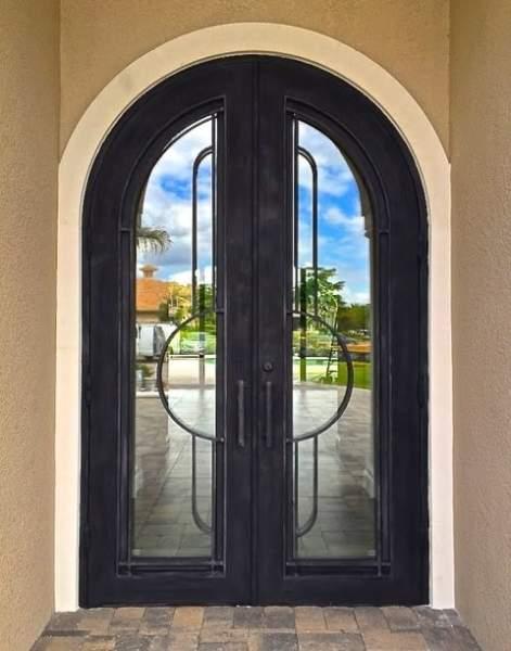 Contemporary Iron Door Designs