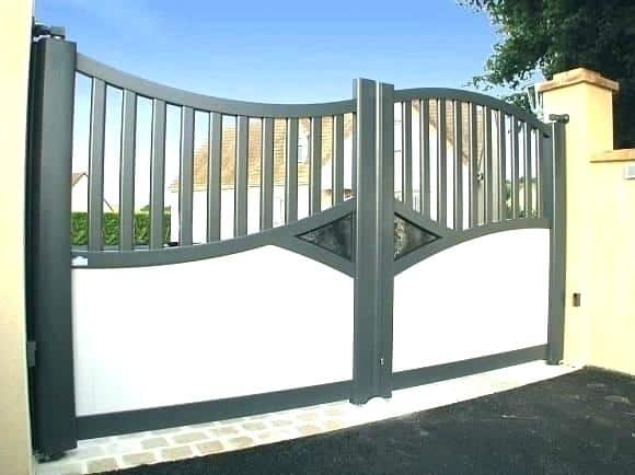 Double Entrance Gates