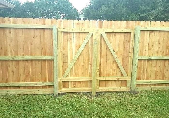 Double Fence Gates