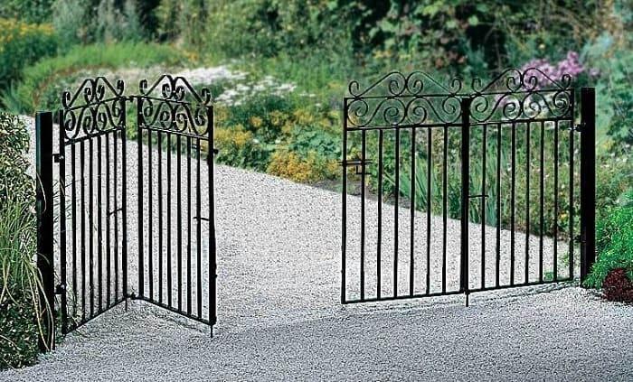 Folding Garden Gates