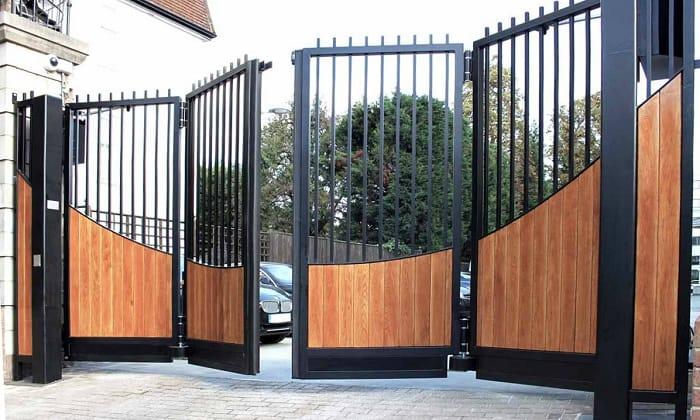 Folding Gate Aluminium