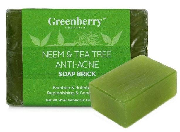 Greenberry Organics Neem and Tea Tree for Acne