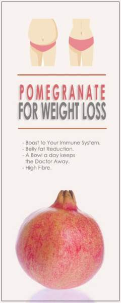 How to use pomegranate for weight loss