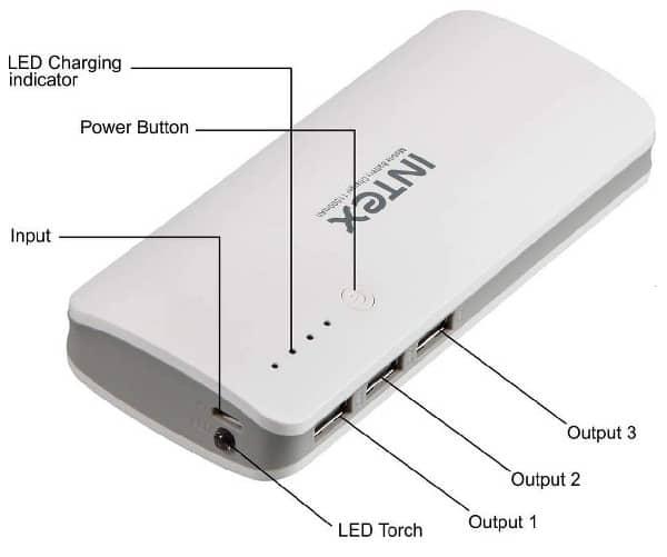 Intex 11000mAh Power Bank