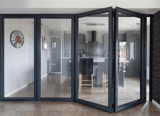 Iron Folding Door