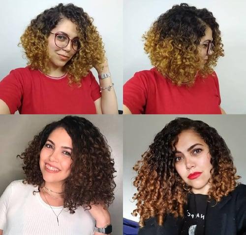 Long Bob Curly Hair