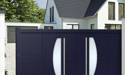 Modern Sliding Gate Designs For Homes