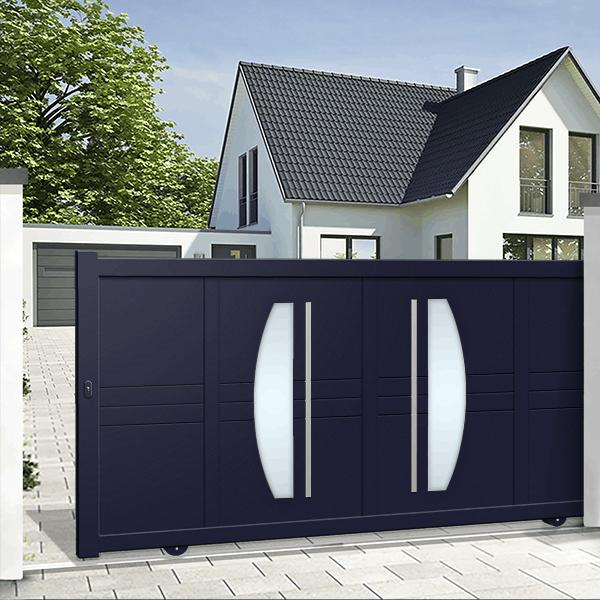 10 Simple Modern Sliding Gate Designs
