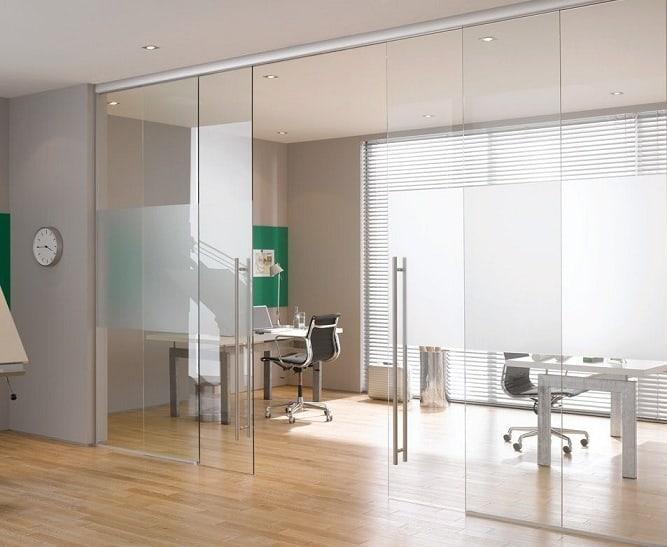 Office Glass Door Design