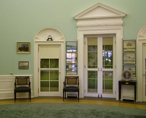 Oval Office Doors