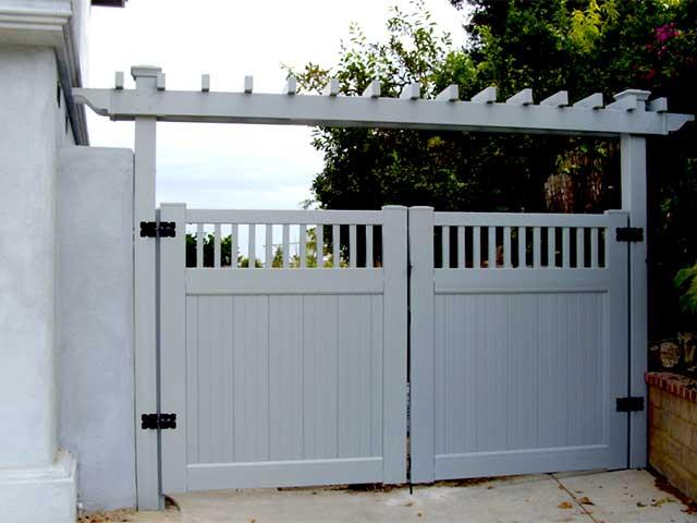 PVC Double Gate