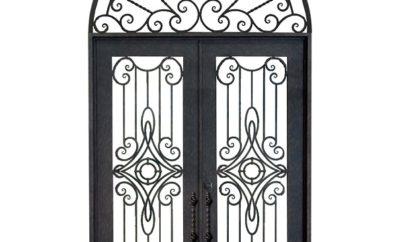 modern iron door designs in india