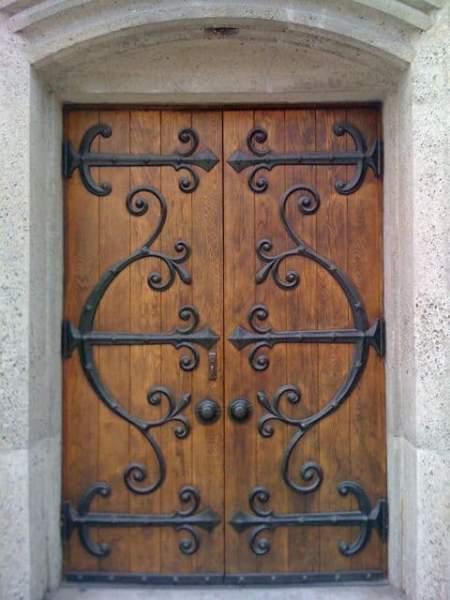Rustic Iron Doors