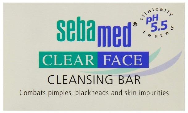 SebaMed Clear Face Bar Soap for Acne