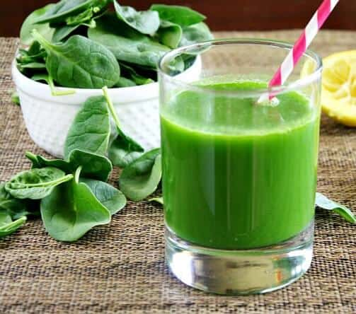 home remedies for dengue fever: Spinach juice