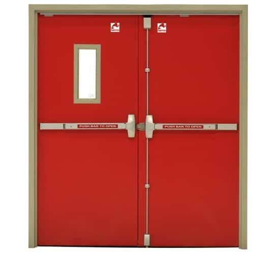 Steel Fire Door Designs