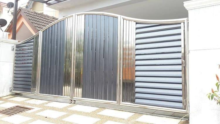 Steel Folding Gate Designs