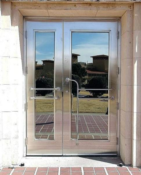 Steel Front Door Design