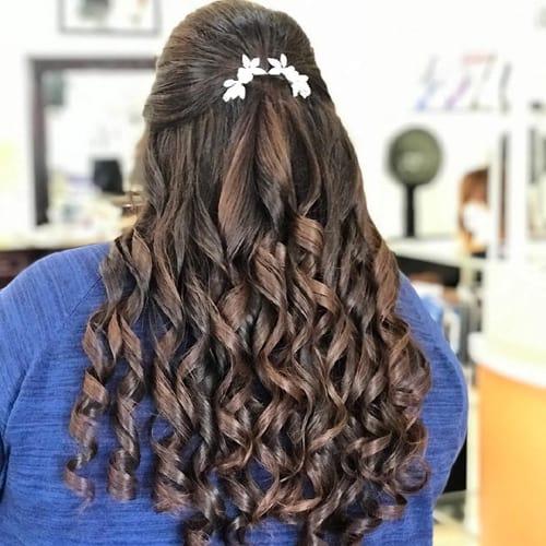 The Bow Curls Haircut
